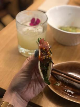 Taco de atum spicy