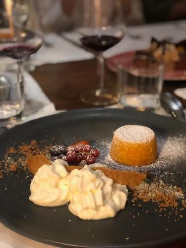 Mit-cuit de Abóbora com Mousse de Ricotta