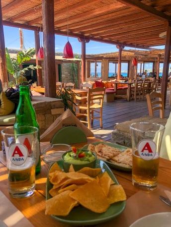 Magaya Beach, Paros