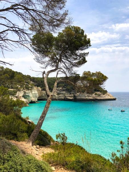 Cala Mitjana, Menorca, Espanha