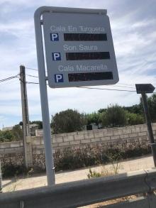 Estacionamentos, Menorca
